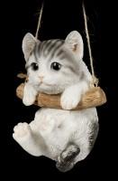 Hanging Cat Baby Figurine