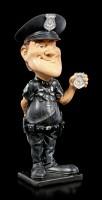 Funny Job Figur - Polizist mit Marke