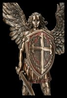 Archangel Michael Figurine with Shield and Sword