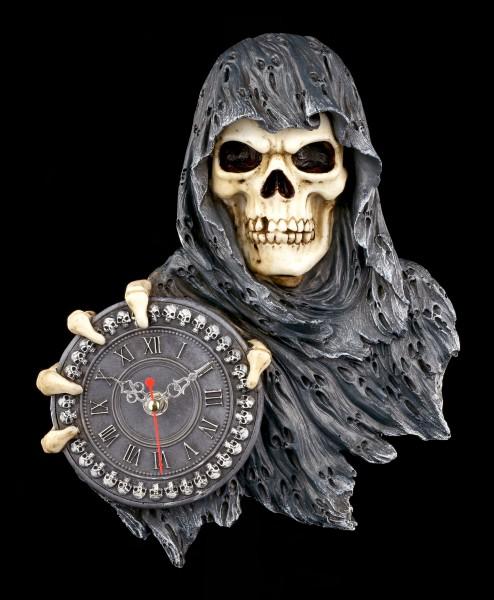 Wanduhr Reaper - Deine Stunde ist gekommen