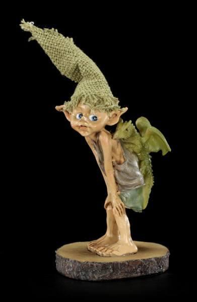 Pixie Kobold Figur - Drachenreiter