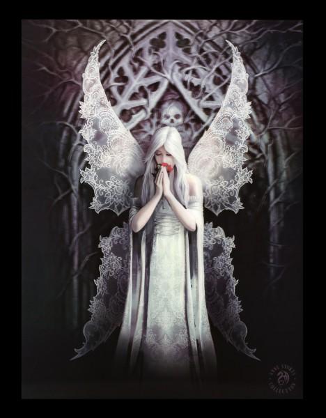 3D Bild mit Gothic Engel - Only Love Remains