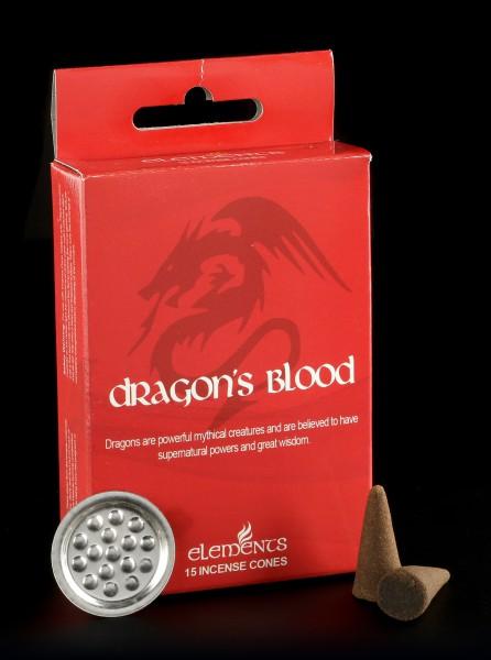 Räucherkegel - Dragon's Blood