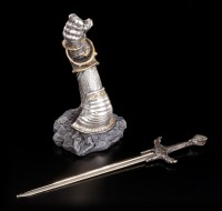 Letter Opener - Knights Hand with Sword
