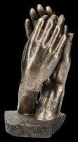 """Skulptur """"Die Kathedrale"""" von Auguste Rodin"""