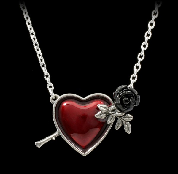 Alchemy Heart Necklace - Wounded by Love