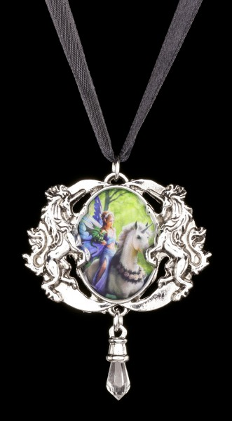 Realm Of Enchantment Cameo by Anne Stokes