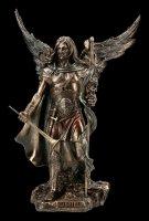 Archangel St. Gabriel Figurine with Staff and Trumpet - medium