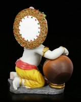 Baby Krishna Figurine steals Butter