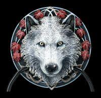 Door Knocker Wolf - Guardian of the Fall