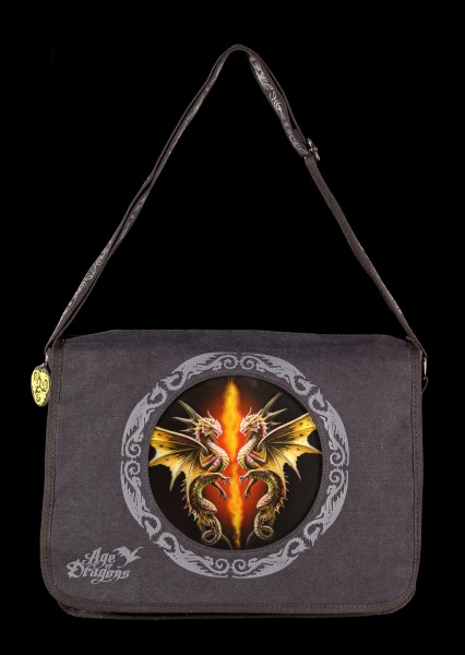 Messenger Bag with 3D Picture - Desert Dragons