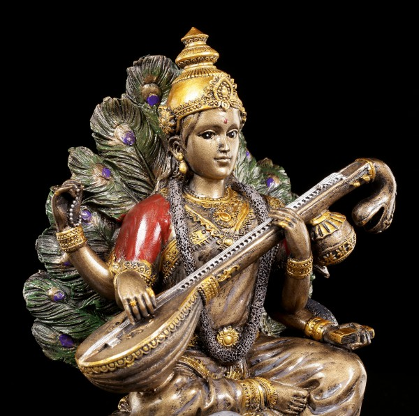 Indische Gott Figur - Saraswati