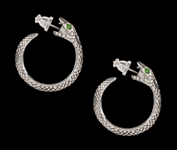 Alchemy Snake Earrings - The Sophia Serpent