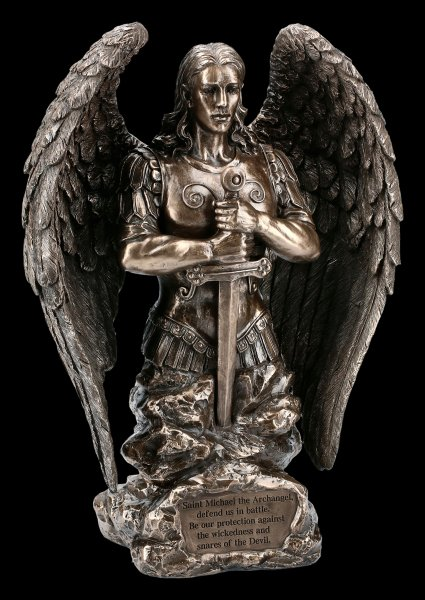 Archangel Michael Figurine - Prayer