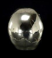 Totenkopf - Silberfarben glänzend