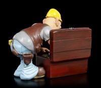 Funny Jobs Figur - Handwerker sucht Werkzeug
