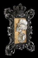 Wall Plaque Skeleton - Monsieur Portrait