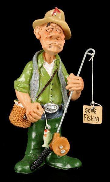 Fisherman - Funny Job Figurine
