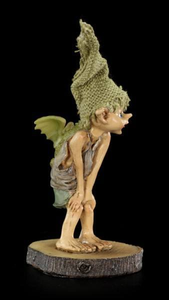 Pixie Goblin Figurine - Dragon Rider