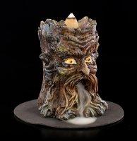 Backflow Räucherkegelhalter - Aged Oak