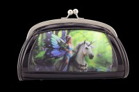 Lack Abend-Handtasche mit 3D Motiv - Realm of Enchantment