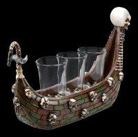 Shot Glasses - Ferryman Boat