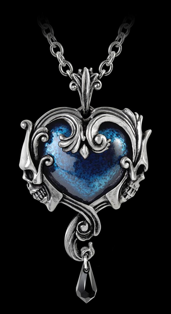 Alchemy Necklace - Affaire du Coeur - Skull Heart