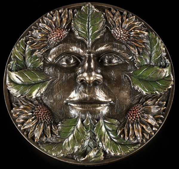 Tree Spirit - Midsummer Wall Plaque