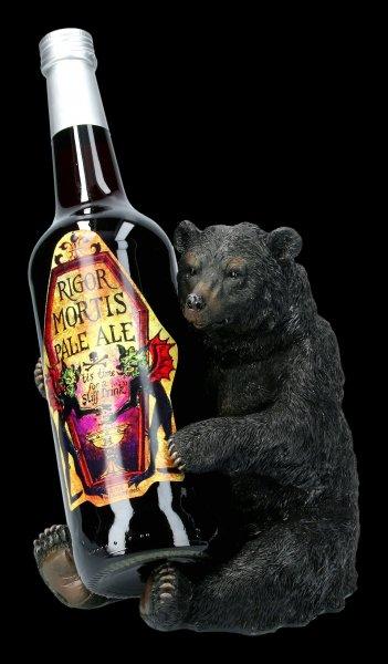 Flaschenhalter - Schwarzbär
