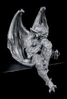 Kantenhocker - Gargoyle Figur mit Kugel