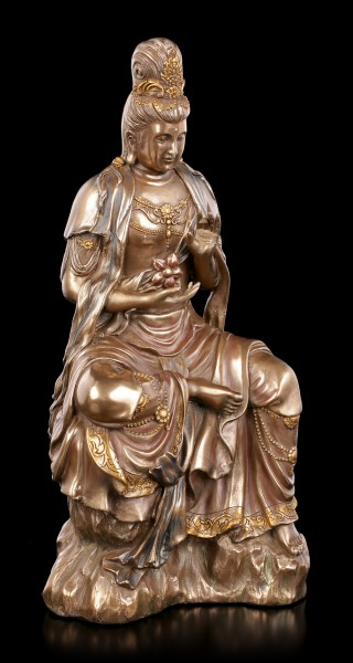 Kwan Yin Figurine - Moon & Water