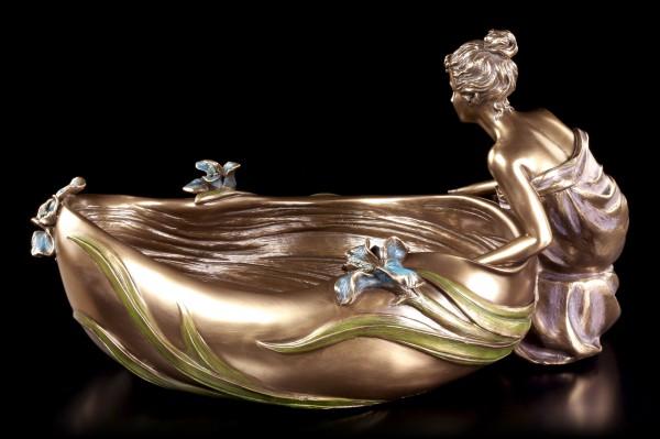 Bowl - Woman Sitting on a Tub