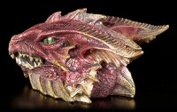Drachen Schatulle - Gut bewacht - rot