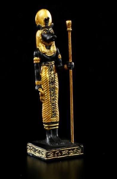 Ägyptischer Gott - Sachmet Figur - klein