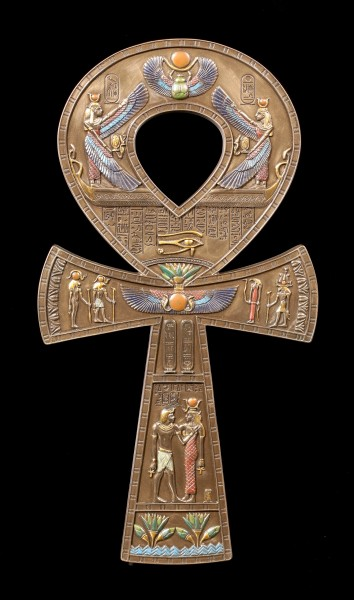 Wall Ornament - Ankh Cross