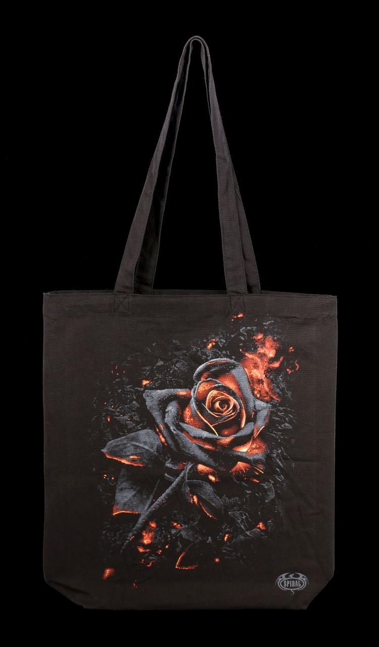 Long Handle Tote Bag - Burnt Rose