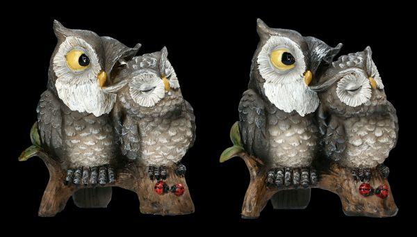 Funny Owl Figurine Set of 2 - Love Birds