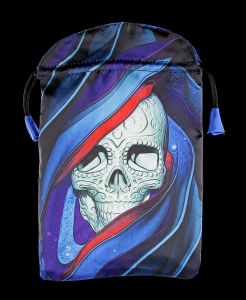 Satin Tarot Bag - Santa Muerte