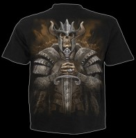 Spiral Skeleton T-Shirt - Viking Warrior