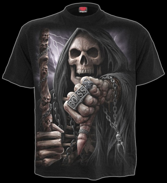 Skelett T-Shirt - Boss Reaper