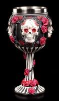 Day of the Dead Kelch - Sugar Skull