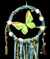 Traumfänger - Green Butterfly Dream