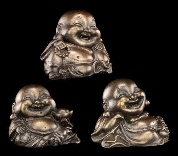 Lachende Buddha Figuren