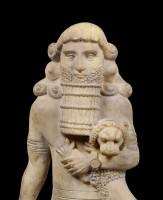 Assyrischer Krieger Figur
