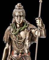 Large Shiva Figurine with Trishula
