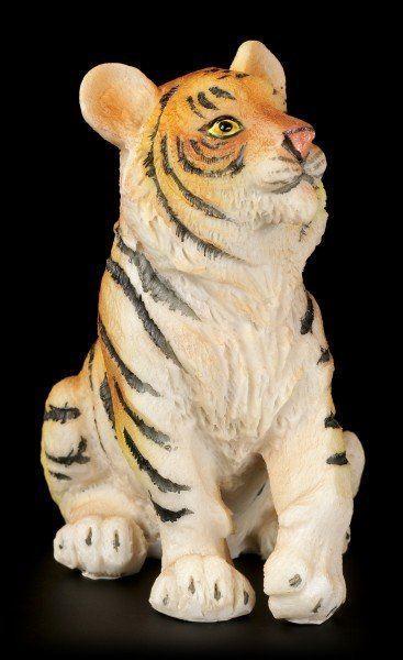 Tigerbaby Figur - Sitzend auf dem Boden