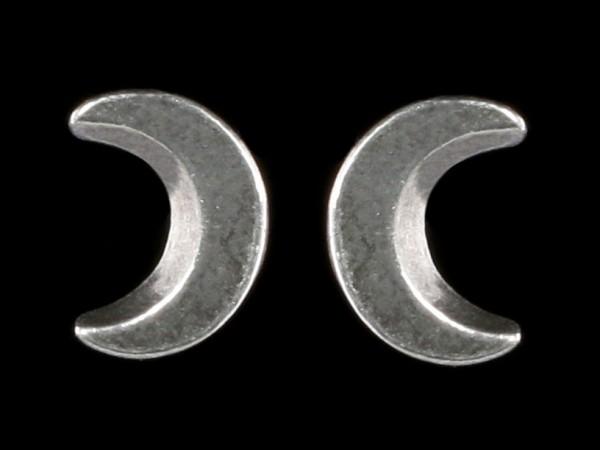Alchemy Gothic Studs - Sickle Moon