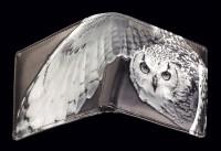 Men Wallet - Snow Owl