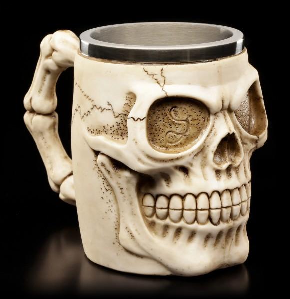 Totenkopf Krug - Grinning Skull
