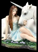 Unicorn Figurine - Pure Heart by Anne Stokes